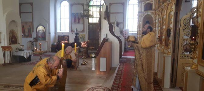 28 октября 2018 Неделя 22-я по Пятидесятнице Святителя Афанасия Исповедника, епископа Ковровского.